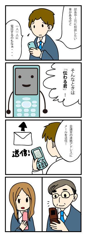 伝わる君 携帯会議 機能と特徴1